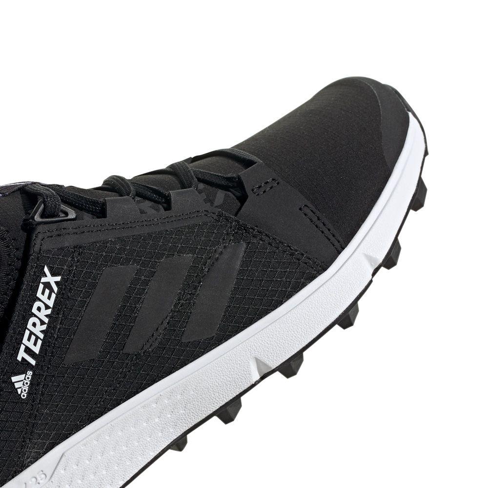 adidas Terrex Agravic Speed Trailrunning Schuhe Damen core black footwear white