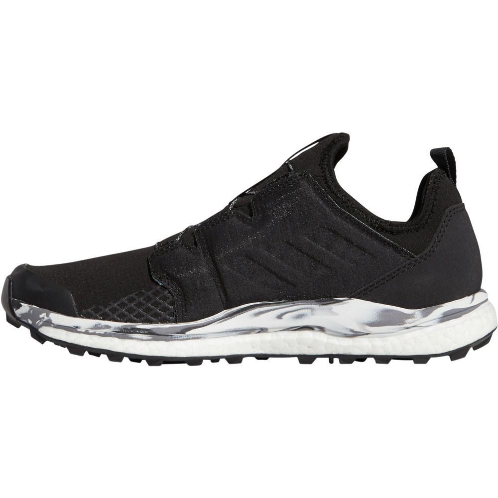 Terrex Agravic Boa Trailrunning-Schuhe Damen core black non-dyed carbon