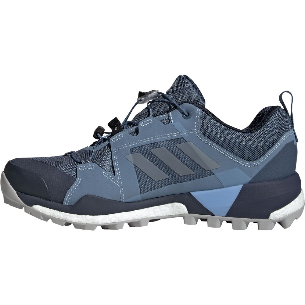 adidas - Terrex Skychaser GTX Hiking Shoes Women tech ink grey two glow blue