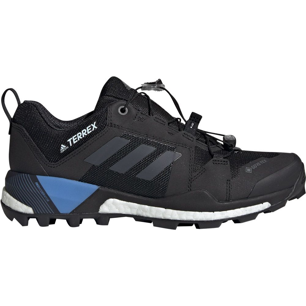 adidas - Terrex Skychaser GTX Hiking Shoes Women core black grey four real  blue