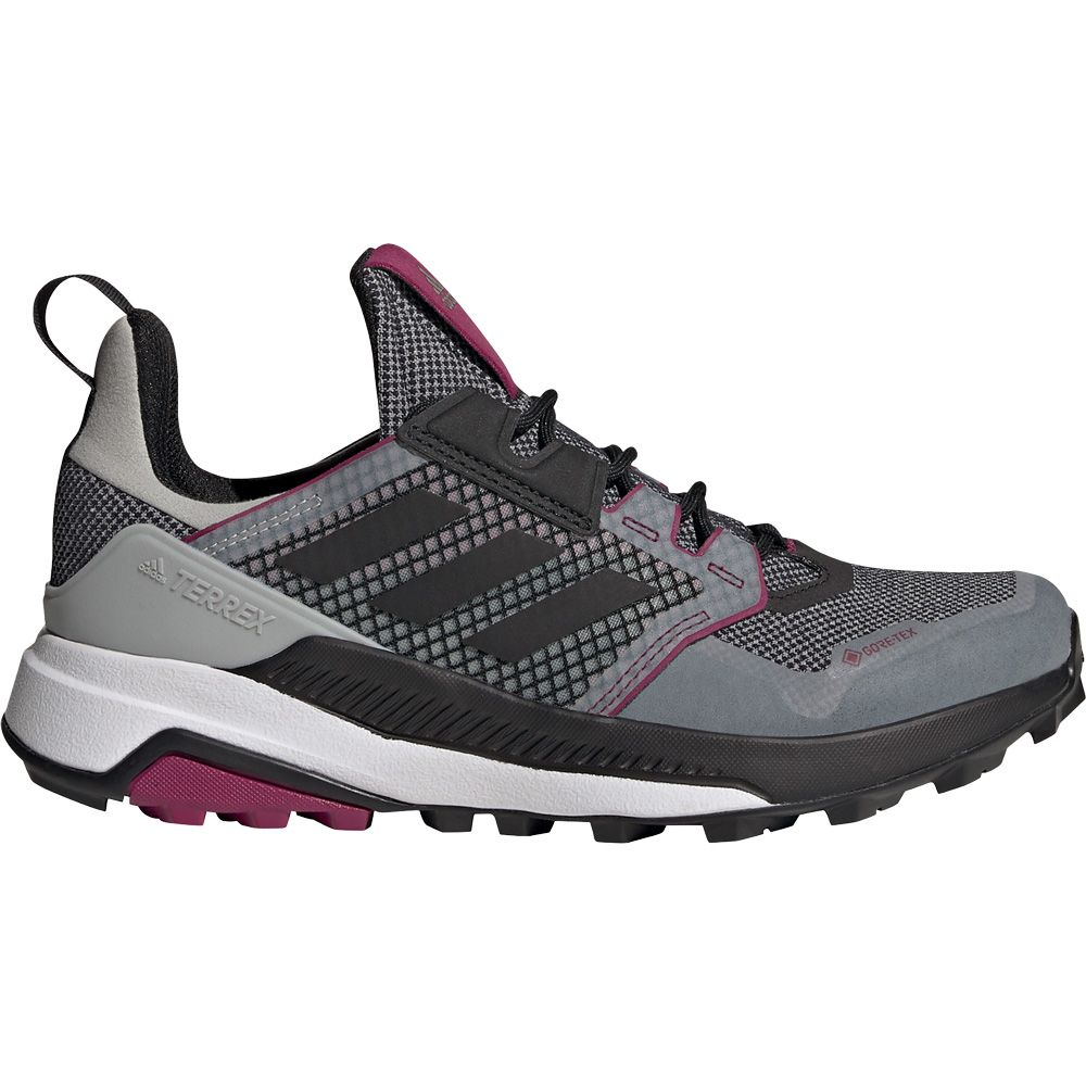 adidas - Terrex Trailmaker Gore-Tex Hiking Shoes Women grey two core black  power berry