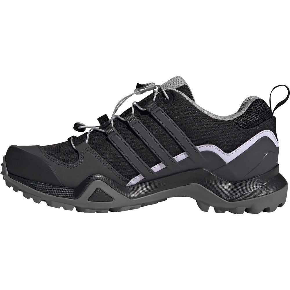 adidas Terrex Swift R2 GTX Trail Running Shoes Women core black dgh solid grey purple tint