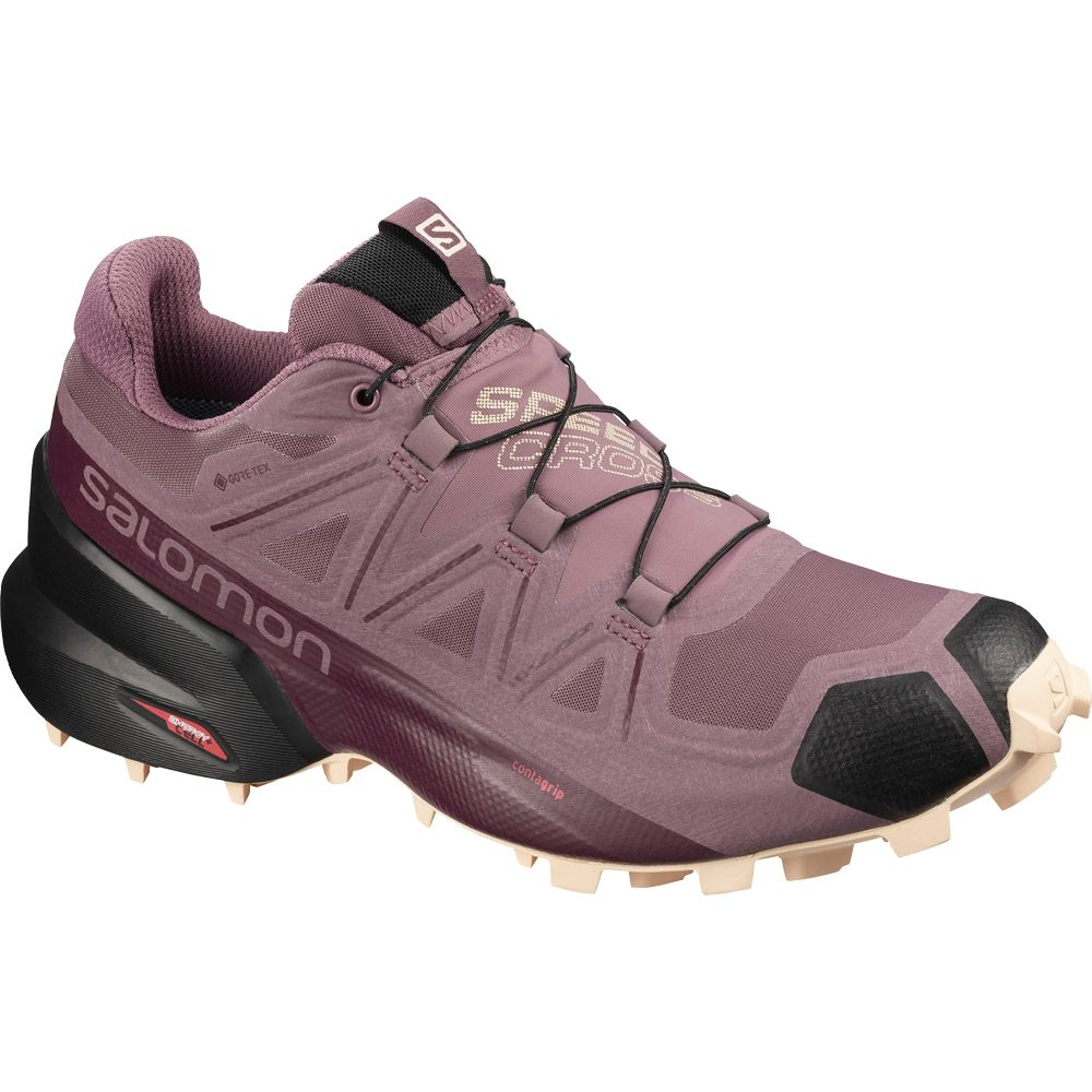 Salomon Speedcross 5 GTX W Damen flint black bellini