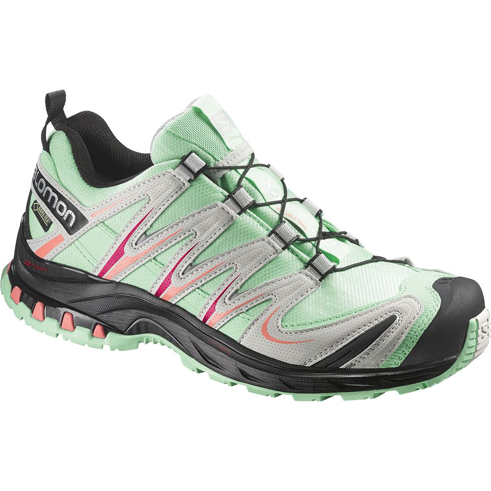 Salomon XA PRO 3D GTX® W 10 YR LTD Real Blue Lucite Green