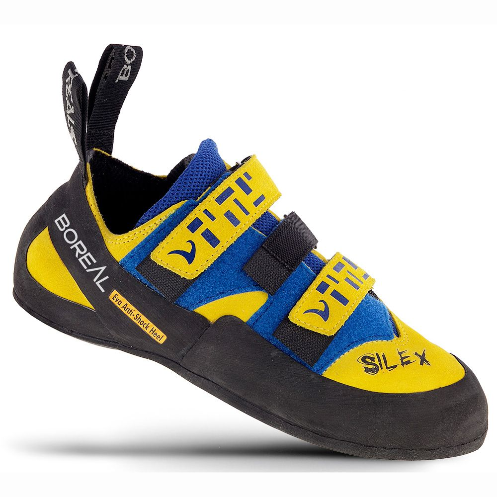 Silex Velcro Climbing Shoe yellow