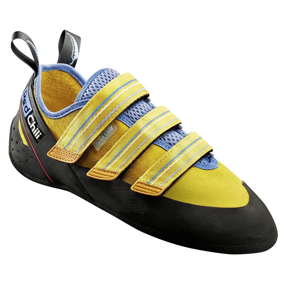 Spirit Velcro Climbing Shoe Women yellow