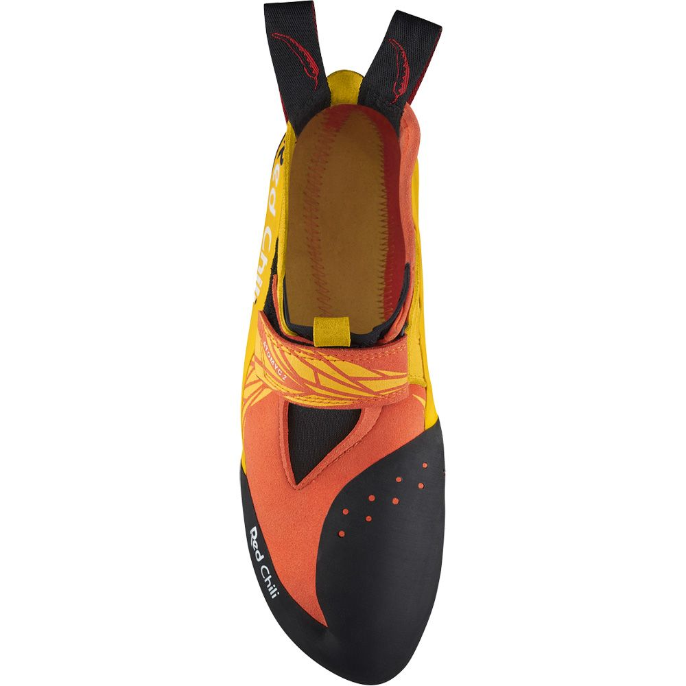 Atomic 2 Climbing Shoe ocker orange schwarz