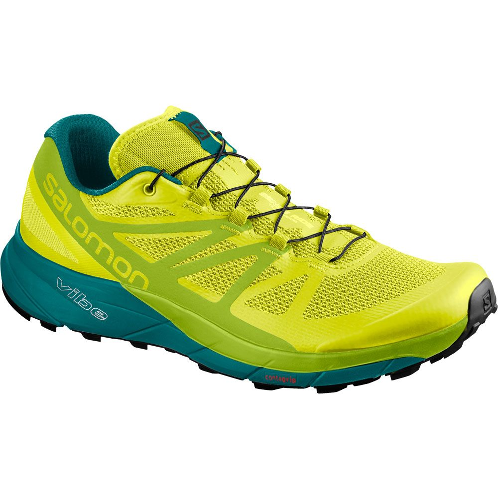 32ca9e646ad4 Salomon - Sense Ride Men sulphur spring lime green deep lake at ...