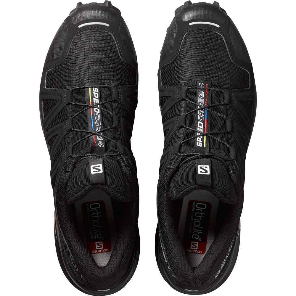 Salomon Speedcross 4 Herren black black metallic kaufen jy8TQ