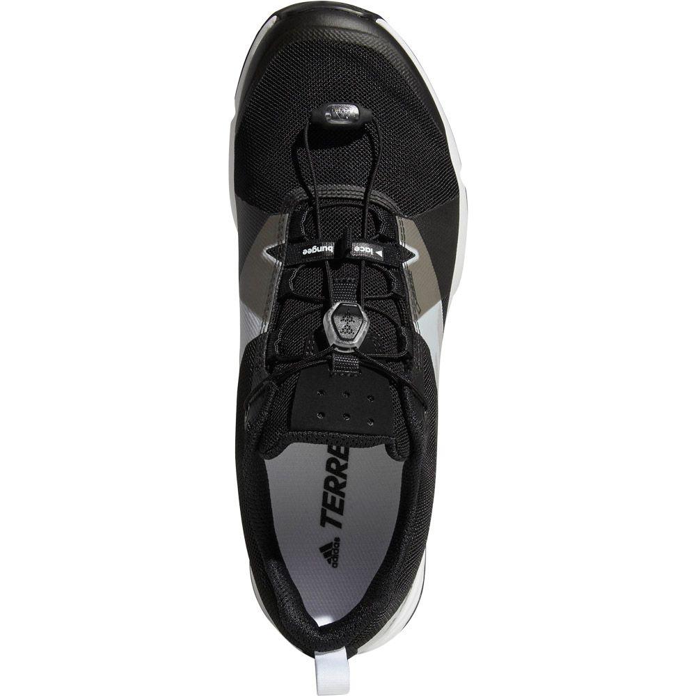 adidas Terrex Two GTX Trail Running Schuhe Herren core black grey four footwear white