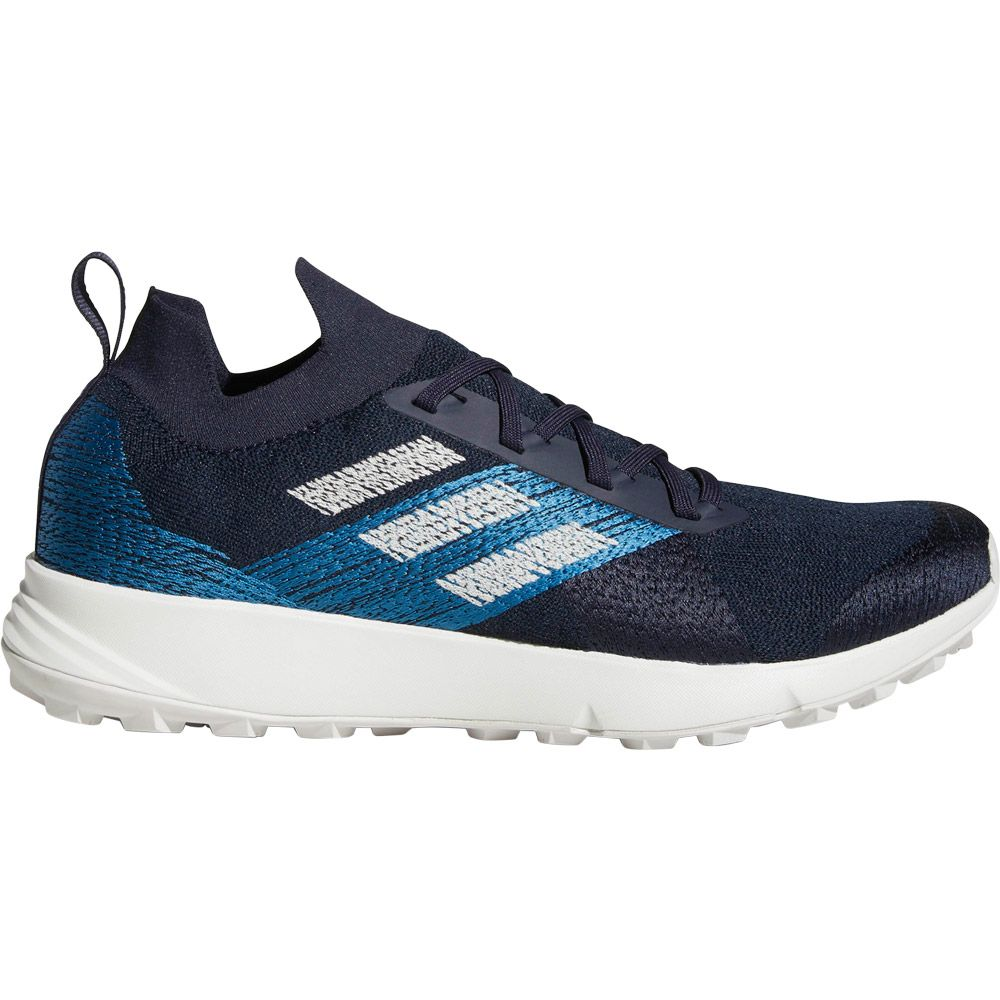 get online cheap sale separation shoes adidas - Terrex Two Parley Trail Running Schuhe Herren legend ink grey one  core blue