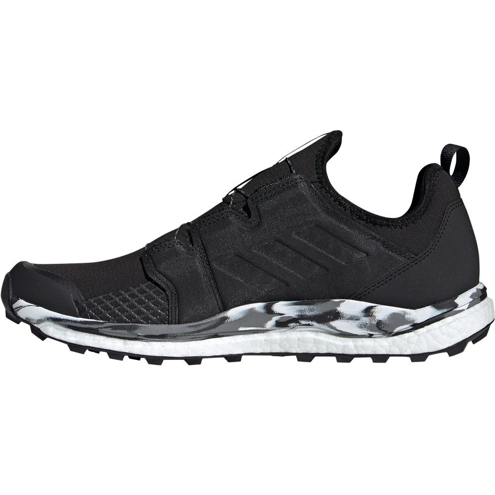 adidas Terrex Agravic Boa Trail Running Shoes Men core black grey one
