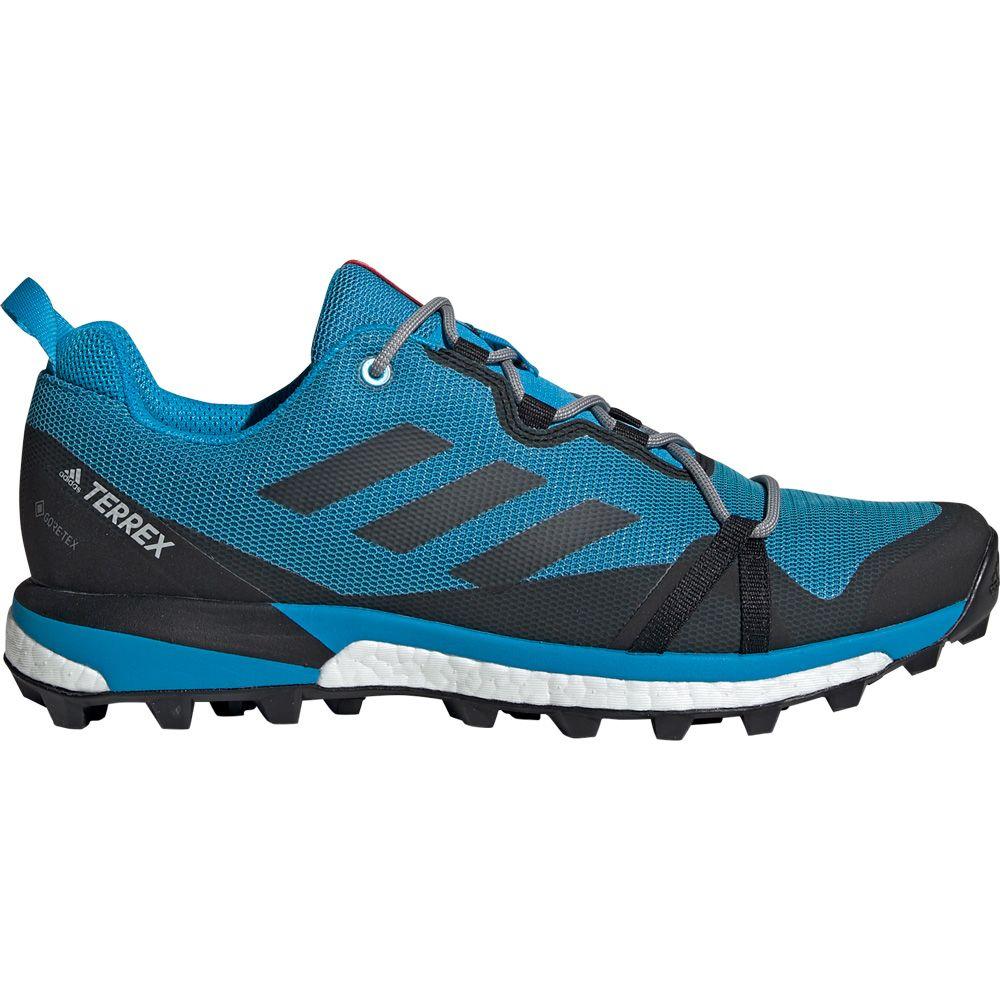 e2711bae0cccfb adidas Terrex Skychaser LT GTX Trail Running Shoes Men shock cyan core  black active red
