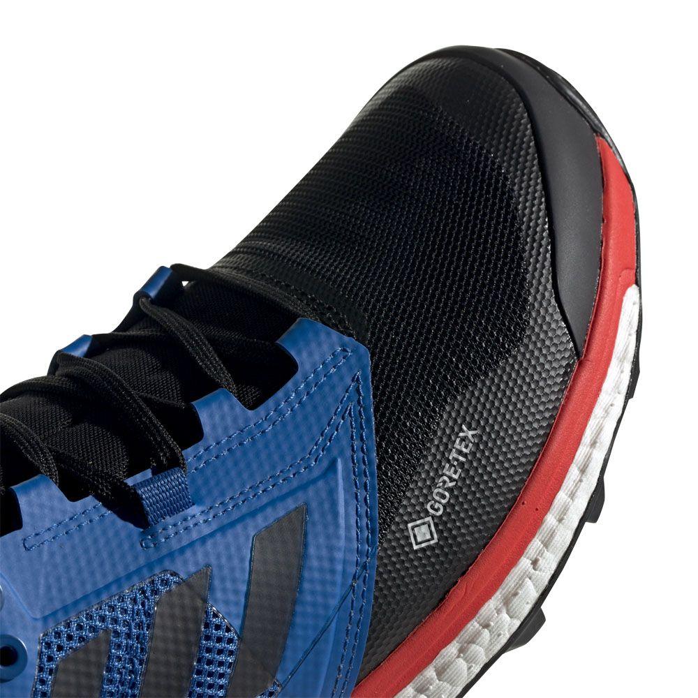 adidas Terrex Agravic XT GTX Trail Running Shoes Men core black blue beauty
