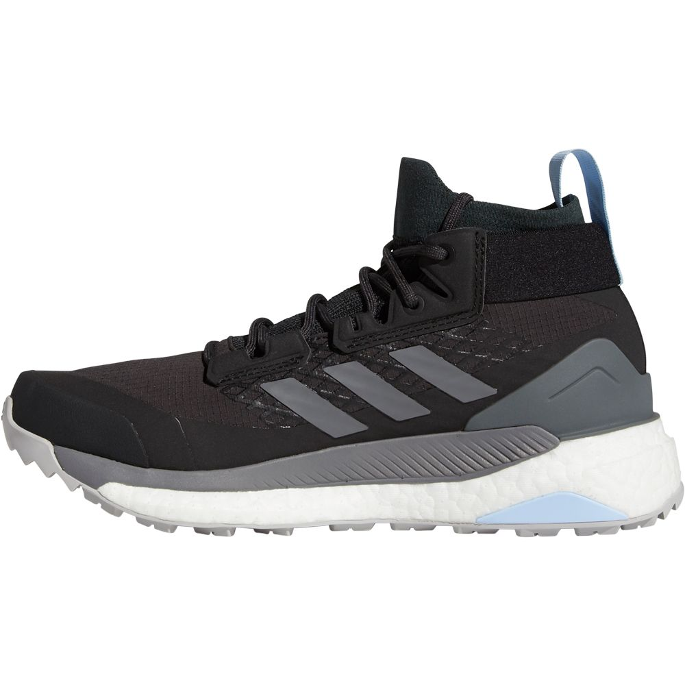 adidas - Terrex Free Hiker GTX Shoes Women carbon grey four glow blue