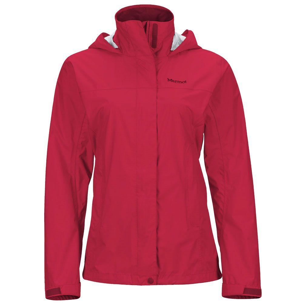Marmot - PreCip Hardshell Jacke Women sienna red at Sport Bittl Shop 8037190c18a8