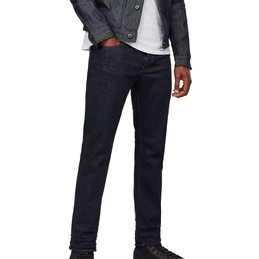 G Star 3301 Straight Fit Jeans Herren rinsed