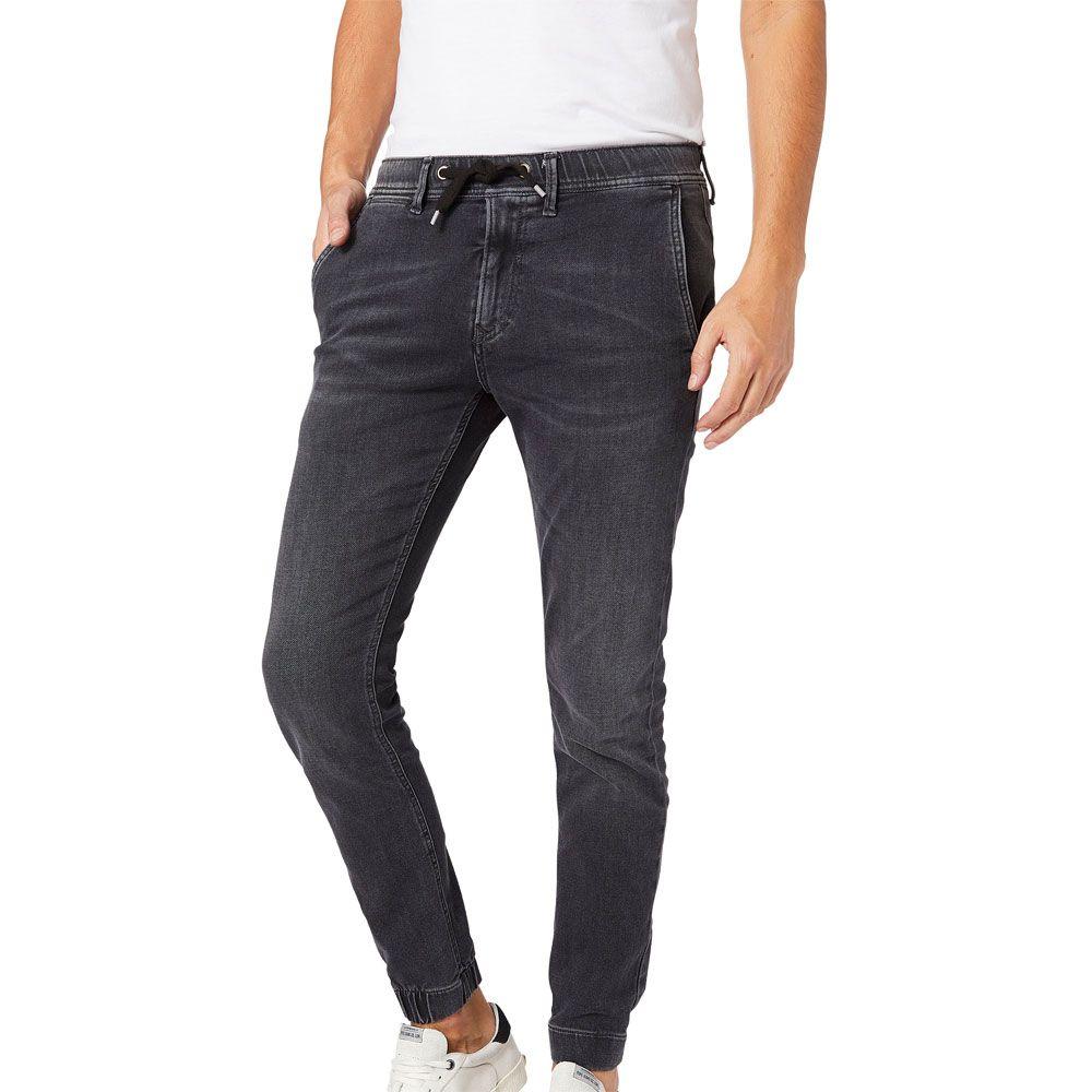 Pepe Jeans Slack Jogger Fit Jeans Herren schwarz