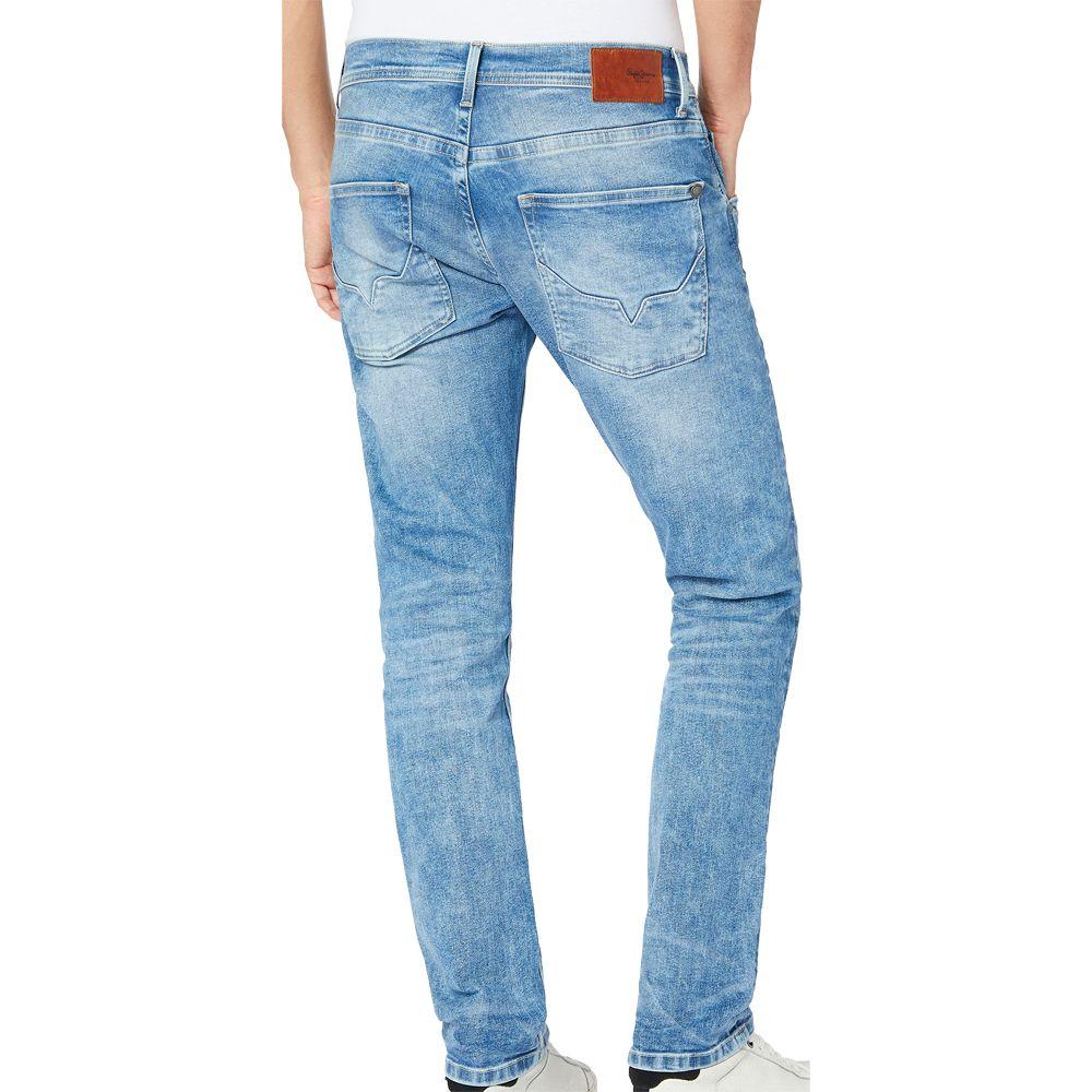 Pepe Jeans Track Regular Fit Jeans Herren denim