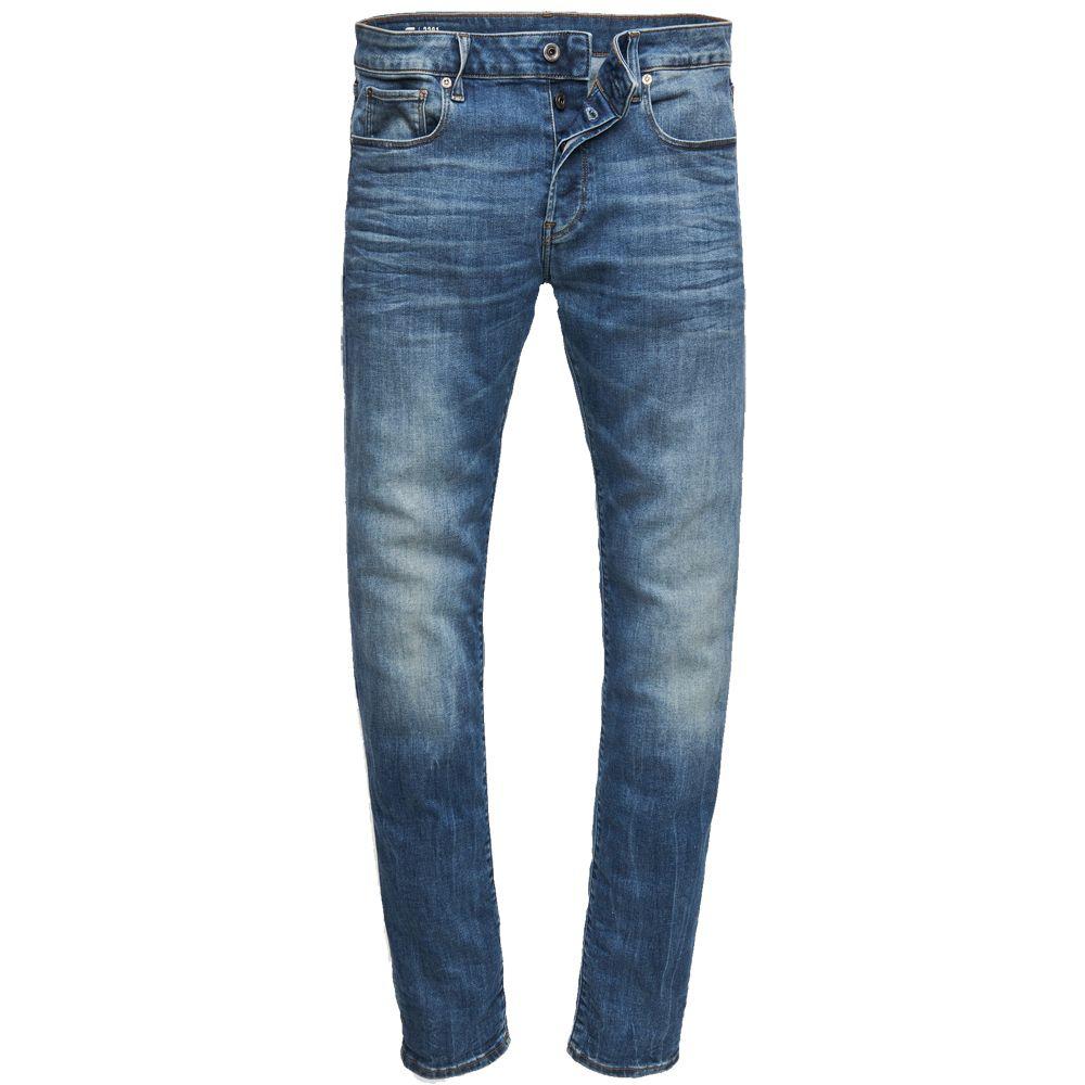G-Star Men/'s 3301 Slim Jeans Blue