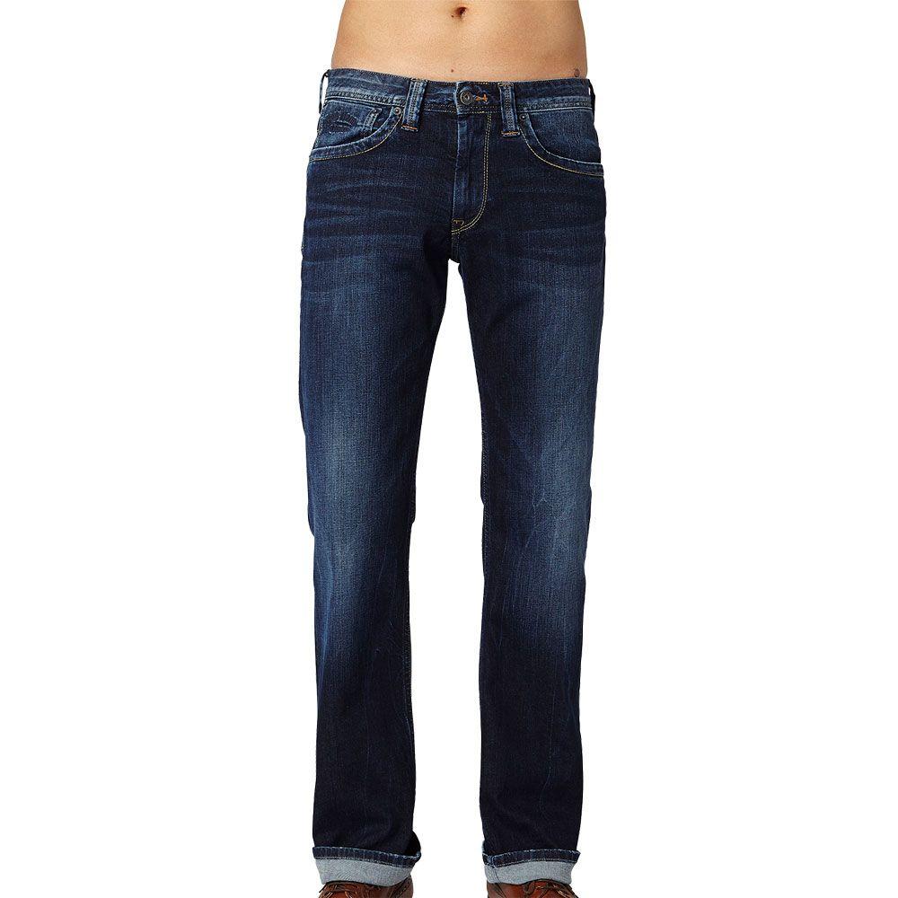 437d428302c Pepe Jeans - Kingston Zip Relaxed Fit Jeans Men blue at Sport Bittl Shop