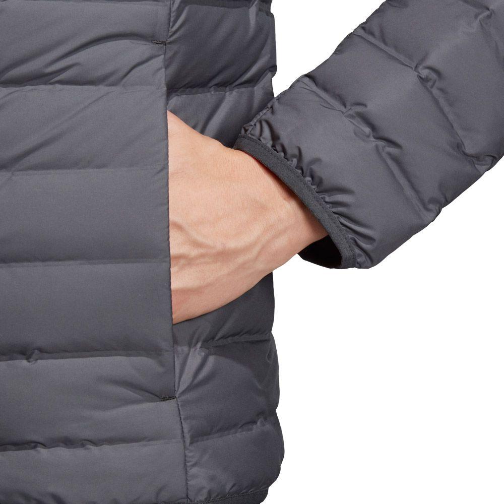 adidas TERREX Varilite Soft Kapuzen Daunenjacke Herren carbon Größe L