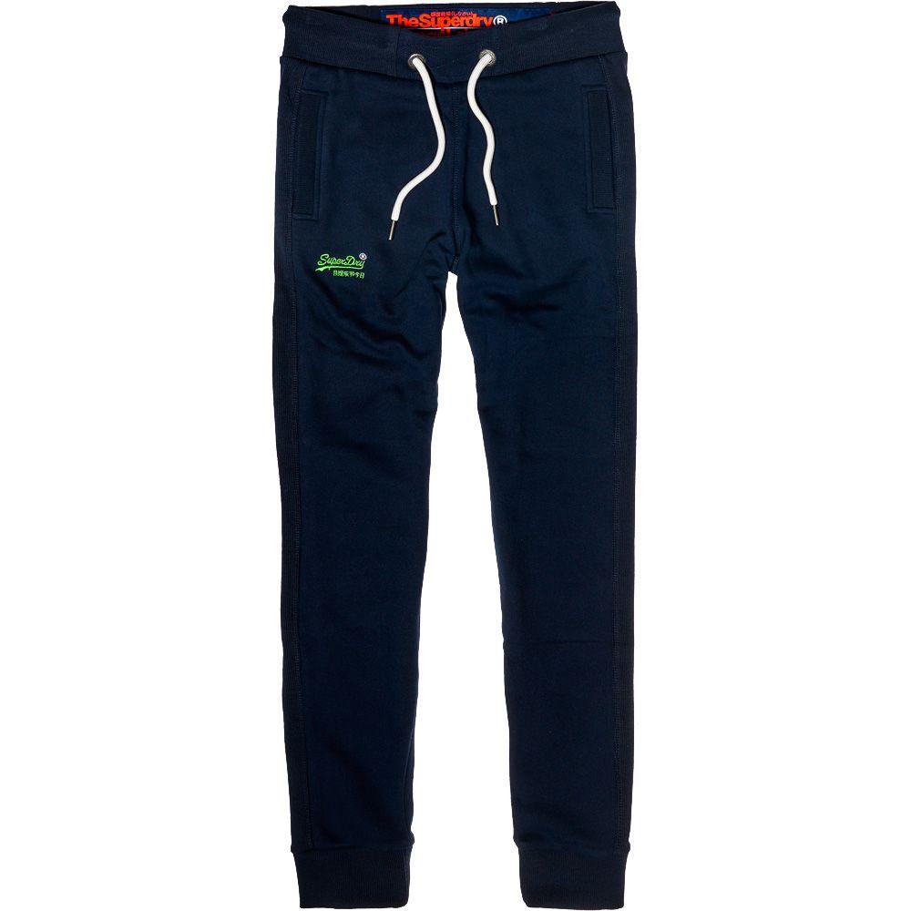 online retailer 74904 896cd Superdry - Orange Label Lite Jogginghose Herren royal navy