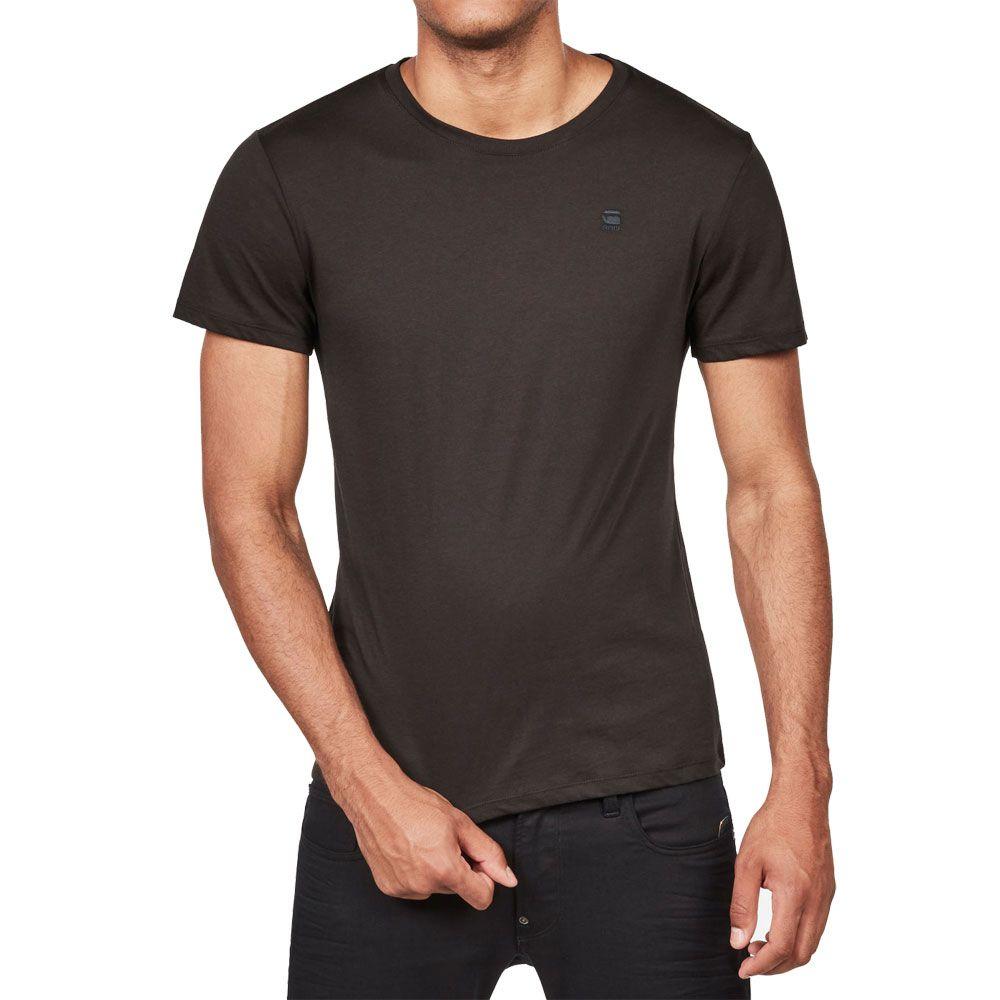 reputable site 9ce9d cf7fb G-Star - Base T-Shirt Men 2-pack solid black