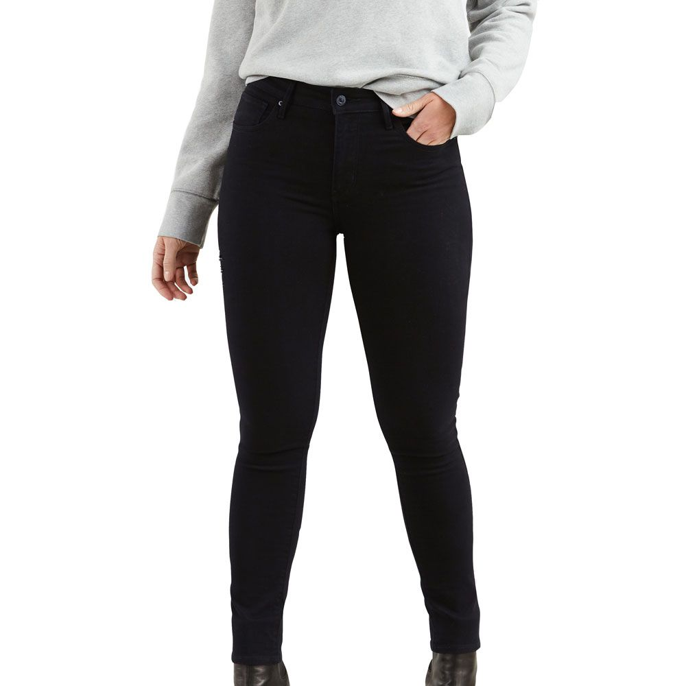 check out 1a63d 33c86 Levis - 721 High Rise Skinny Jeans Damen black sheep