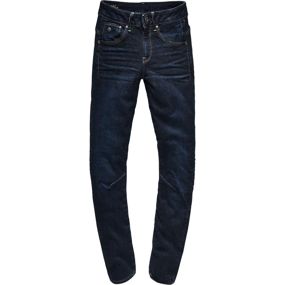 sale retailer d0a81 9174d G-Star - Arc 3D Mid Waist Skinny Jeans Women dark aged