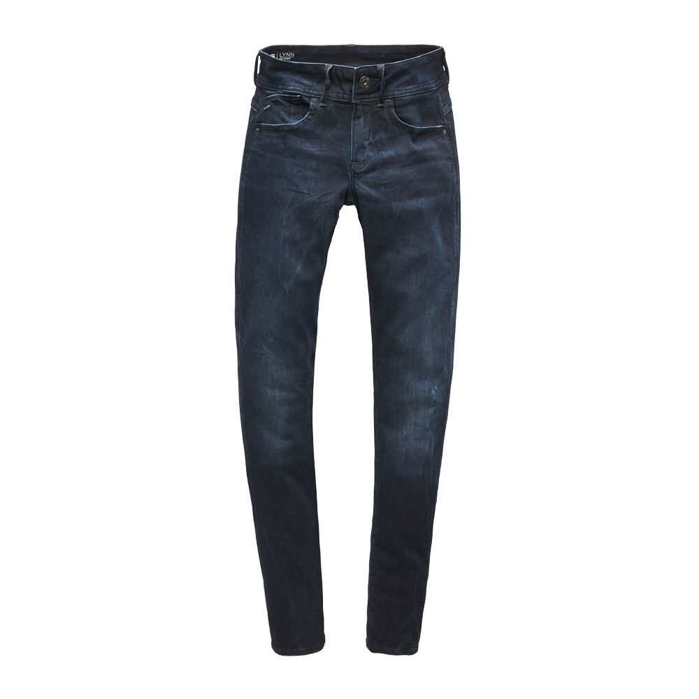 Lynn Mid Skinny Jeans Damen dark aged