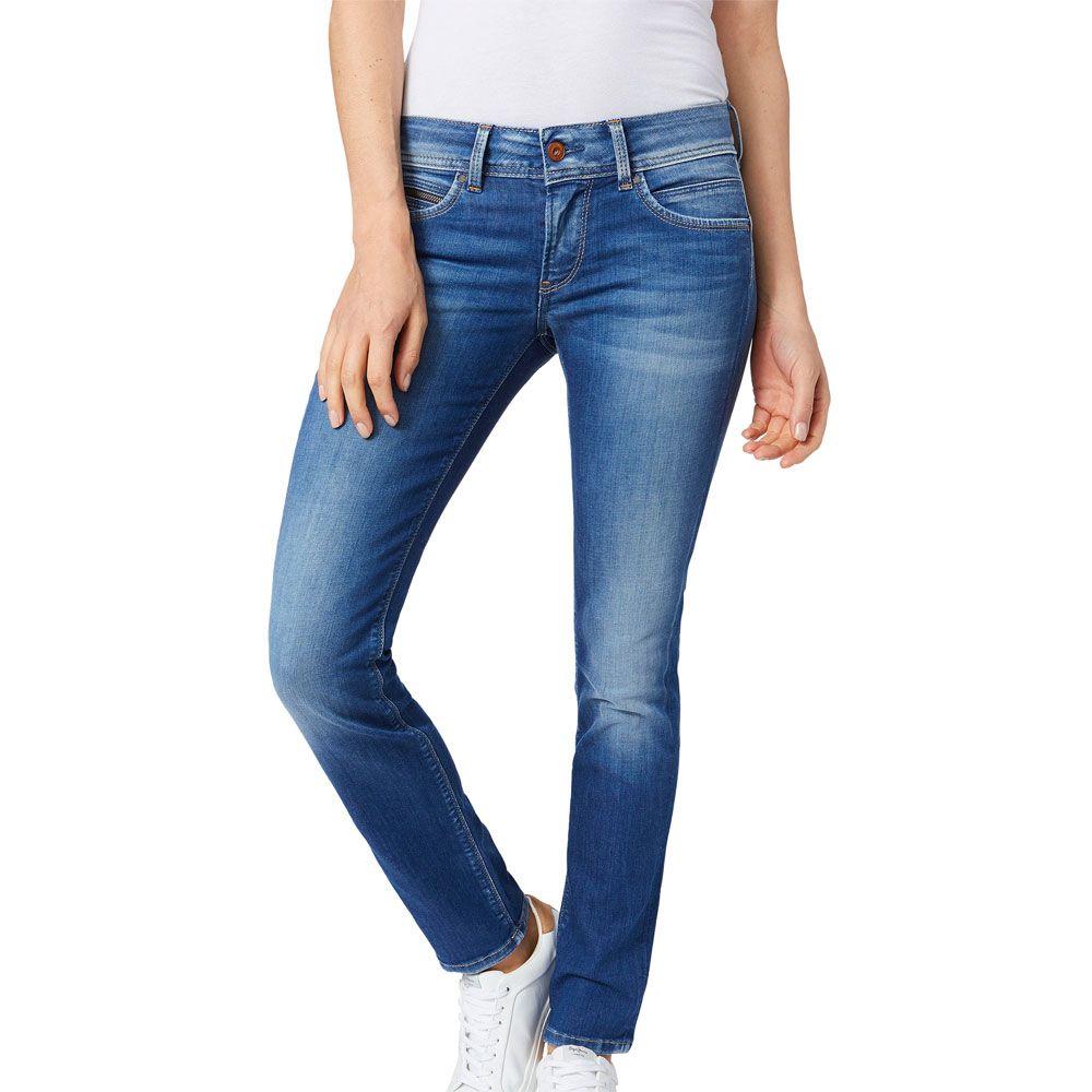 Pepe Jeans Damen Straight Jeans Gen