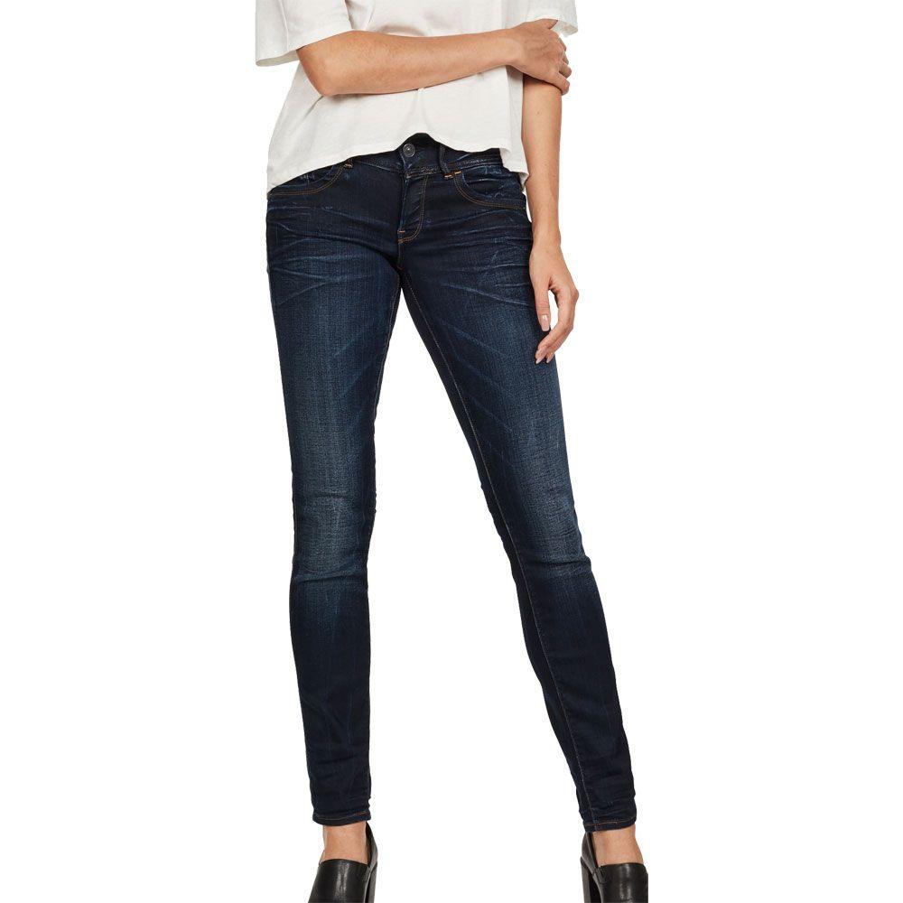 wholesale dealer 74289 46133 G-Star - Lynn Mid Waist Skinny Jeans Women medium aged