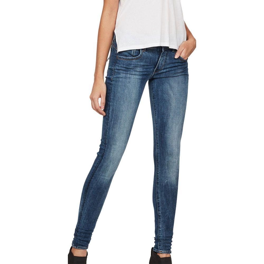 G-Star Lynn D-Mid Super Skinny Jeans Women medium aged