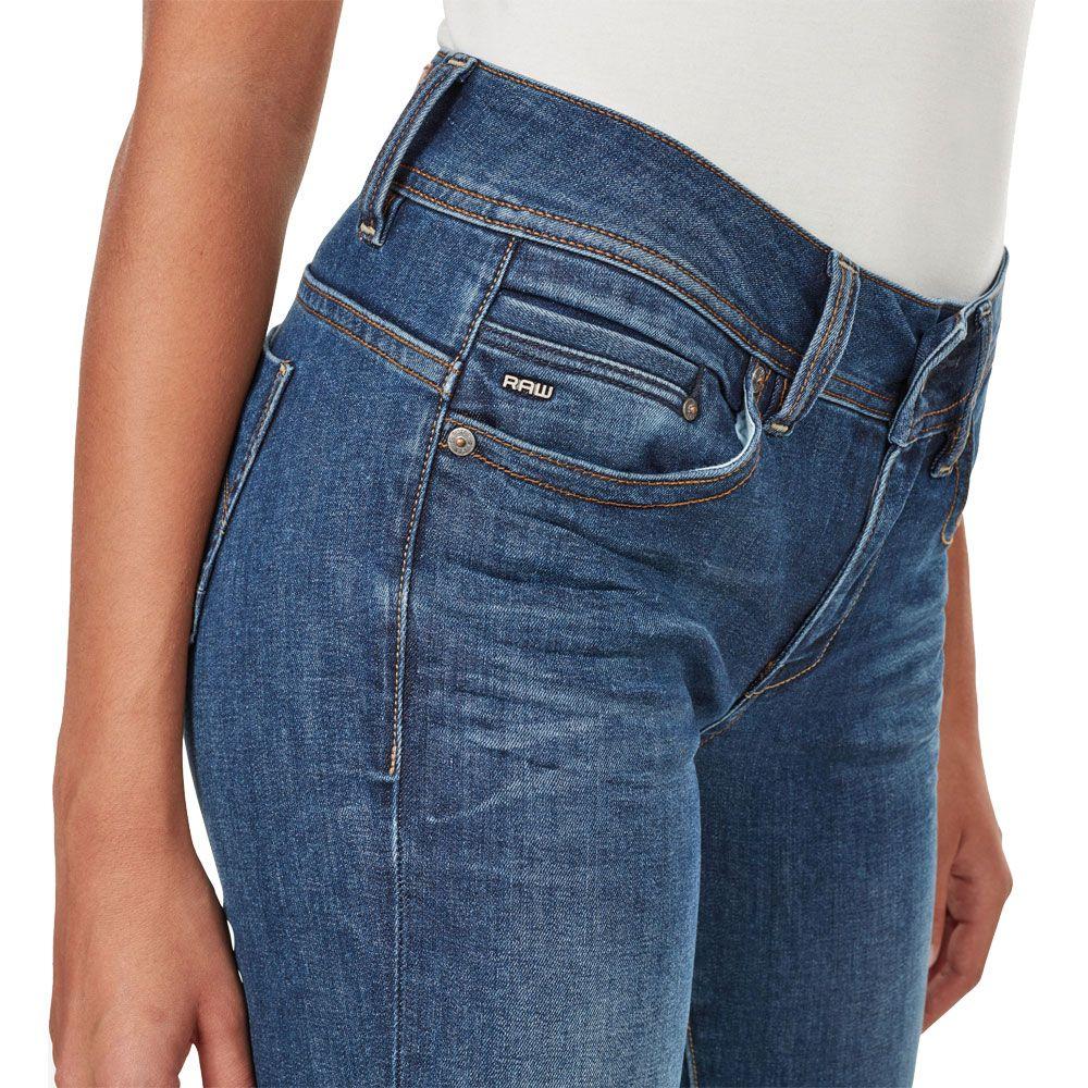 G Star Midge Saddle Mid Waist Straight Jeans medium aged