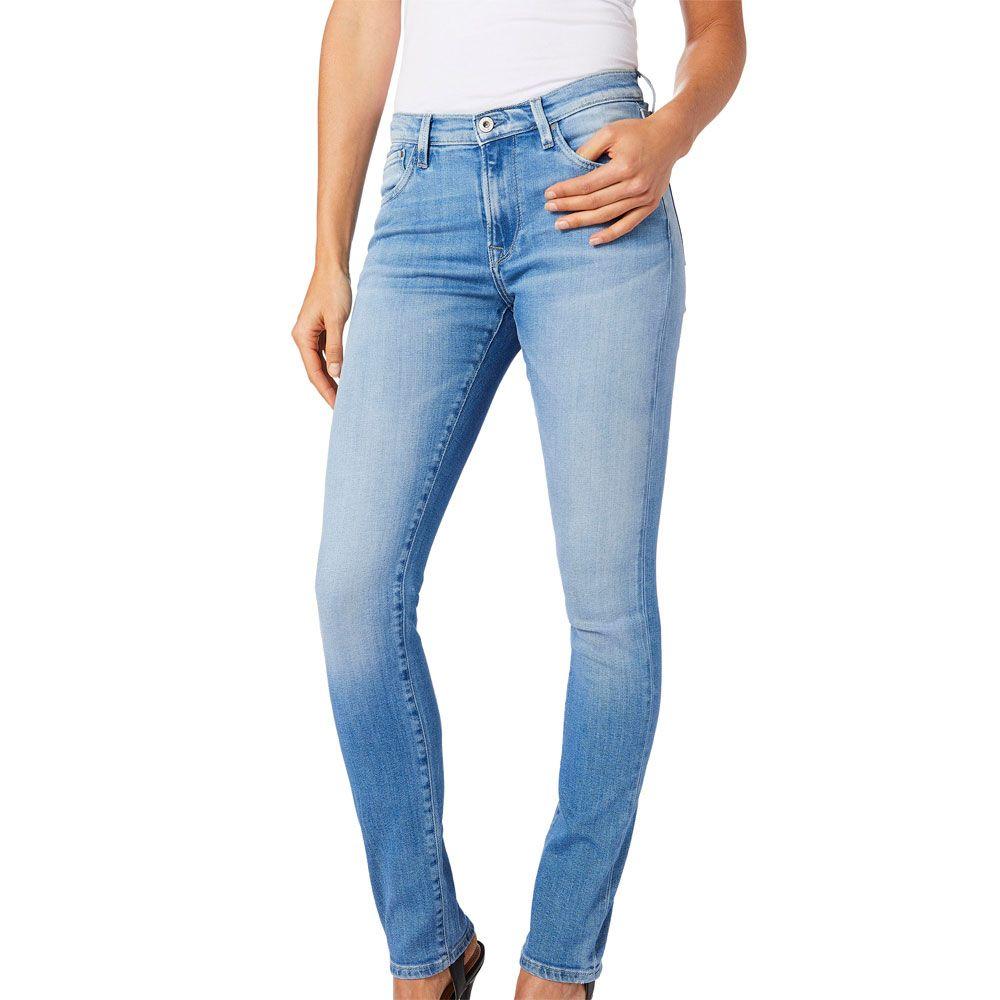 Pepe Jeans Victoria Slim Fit Jeans Damen blau