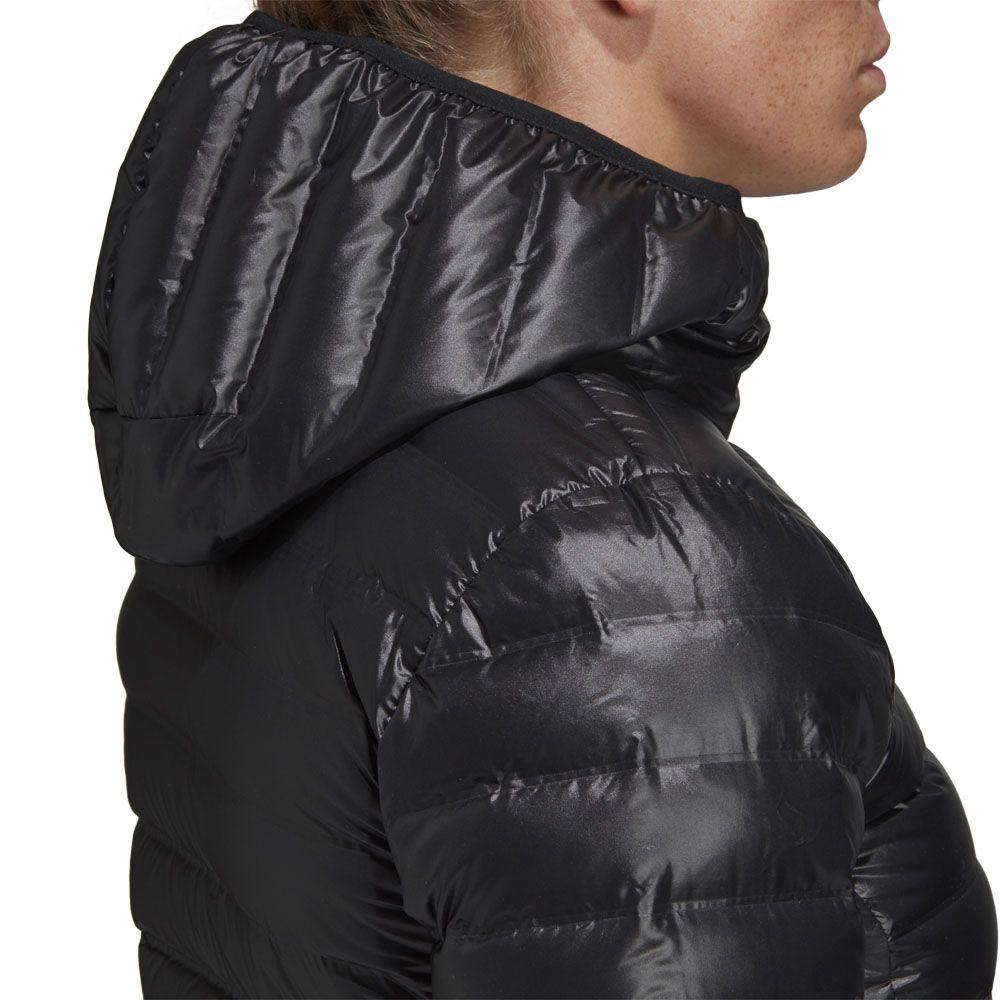 adidas - Varilite Hooded Daunenjacke Damen schwarz kaufen im ...