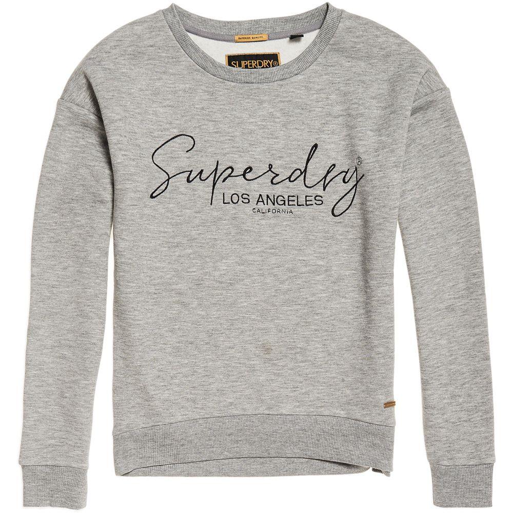 sale retailer dd7b3 ce48c Superdry - Alice Sweatshirt Damen sand grey marl
