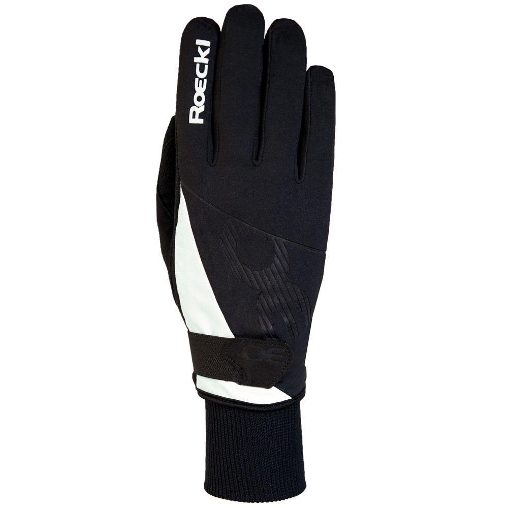 roeckl sports evo handschuhe damen black white kaufen im. Black Bedroom Furniture Sets. Home Design Ideas
