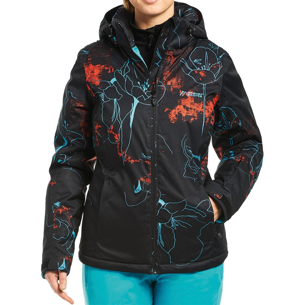 7a76ce6794 Maier Sports - Nakiska Ski Jacket Women black allover at Sport Bittl ...