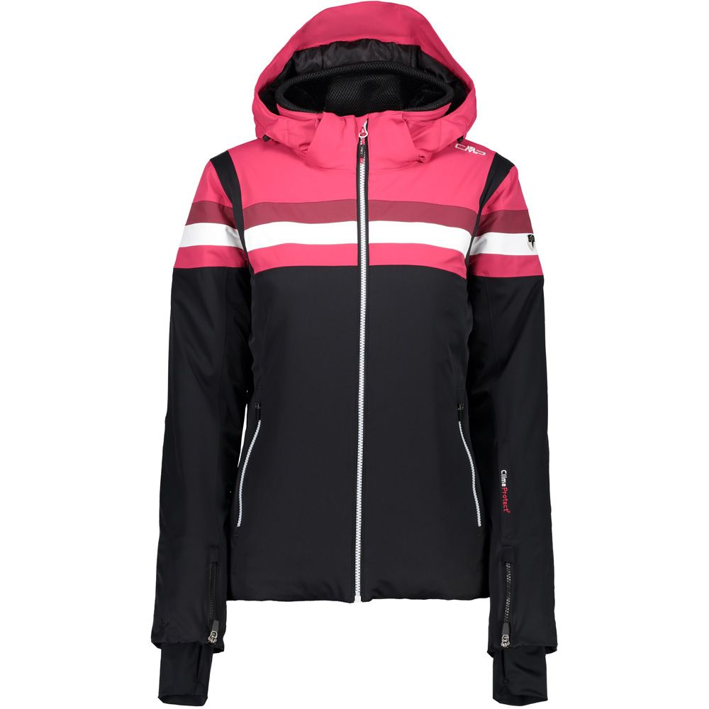 CMP Zip Hood Ski Jacket Women nero