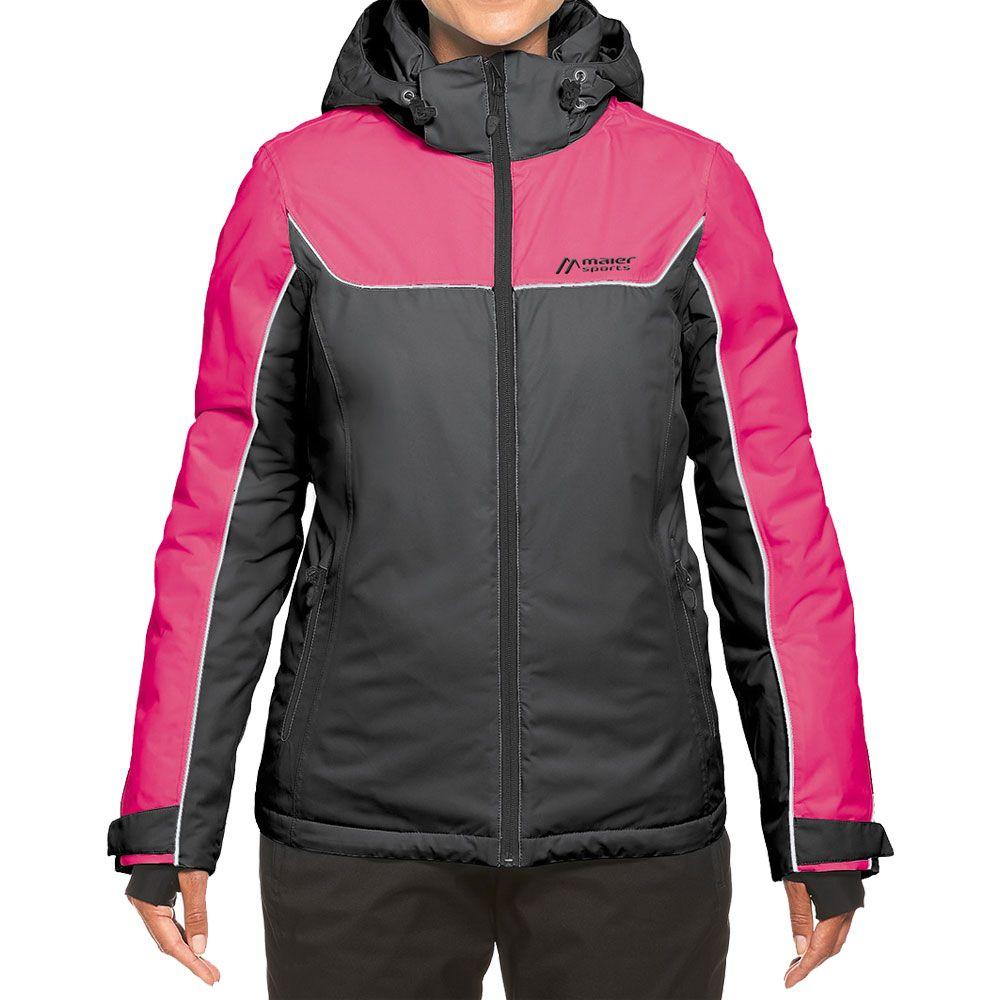ebab87b188 Maier Sports - Persea Ski Jacket Women black pink at Sport Bittl Shop