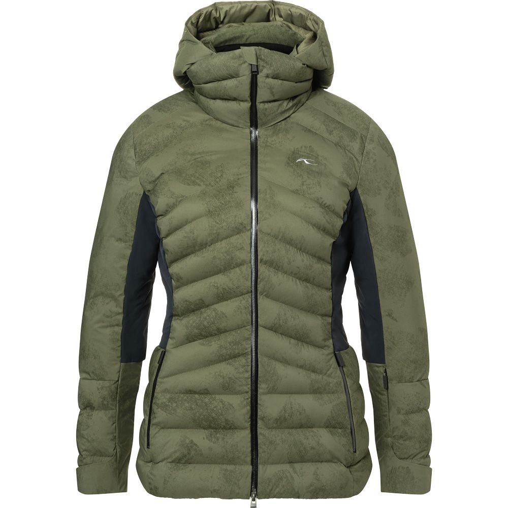 Duana Ski Jacket Women int green black