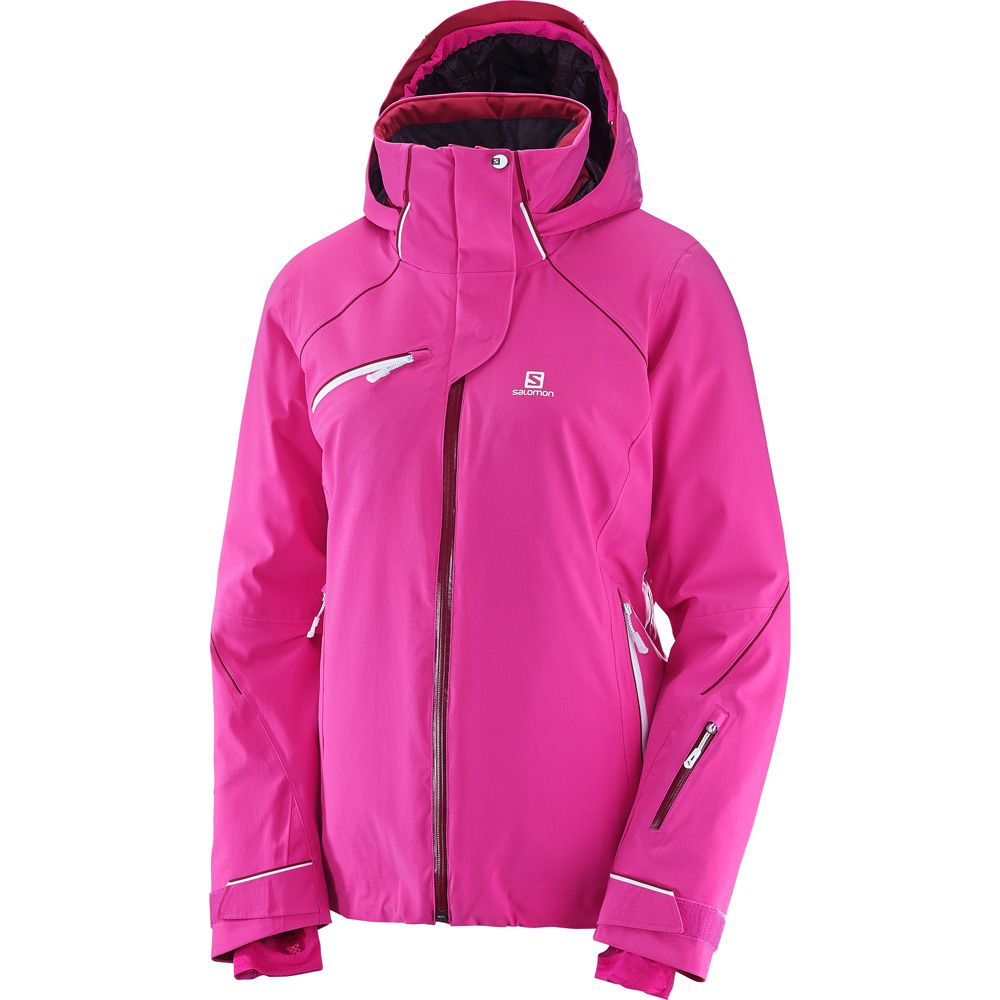Salomon Speed Primaloft® Skijacke Damen rose violet kaufen