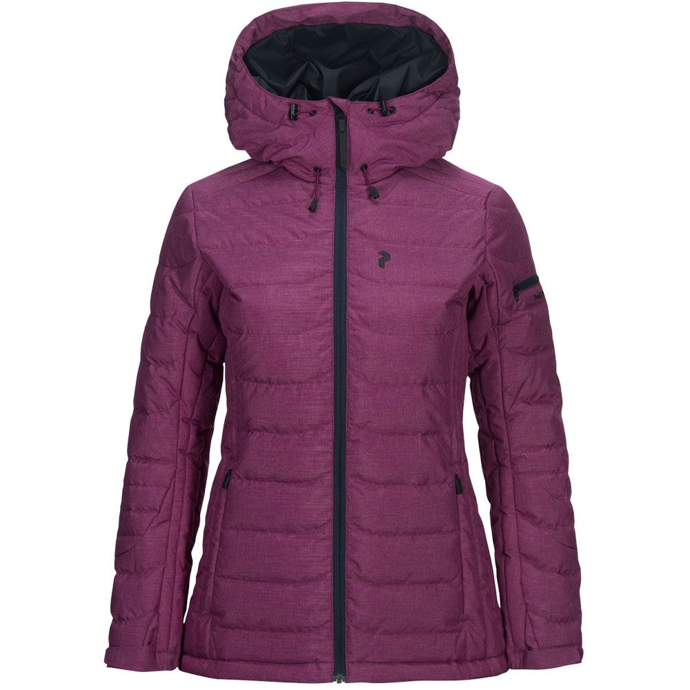 Peak Performance Blackburn Skijacke Damen blood cherry