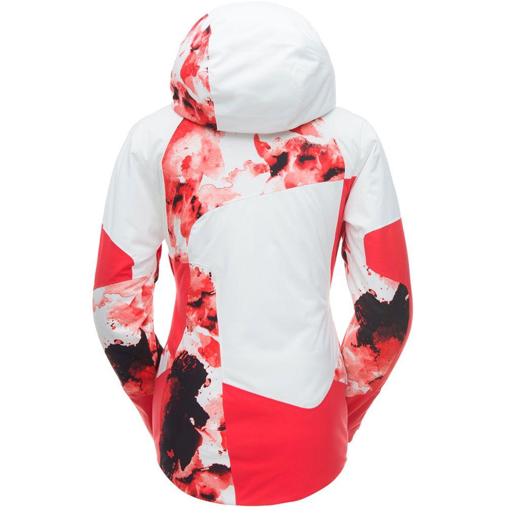 6236a7e0cf Spyder - Leader Ski Jacket Women red white at Sport Bittl Shop