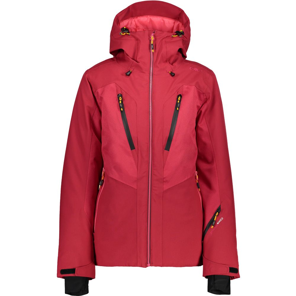 CMP Zip Hood Eco Fur Jacket Women strawberry
