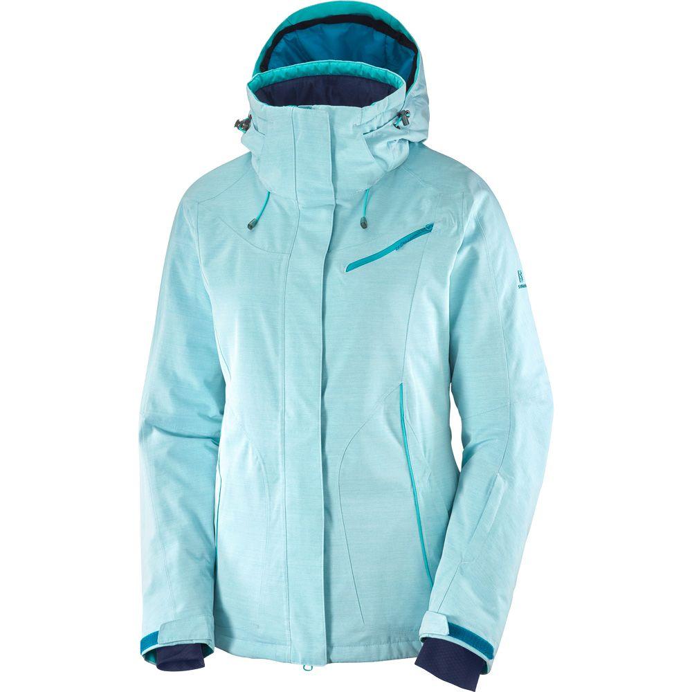 Salomon Fantasy JKT W Snow Jacket Women tile blue