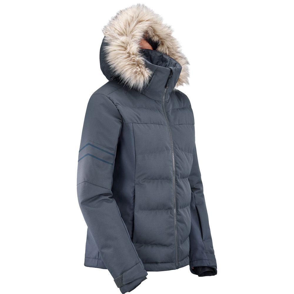 Strike Jacket Skijacke Damen ebony heather