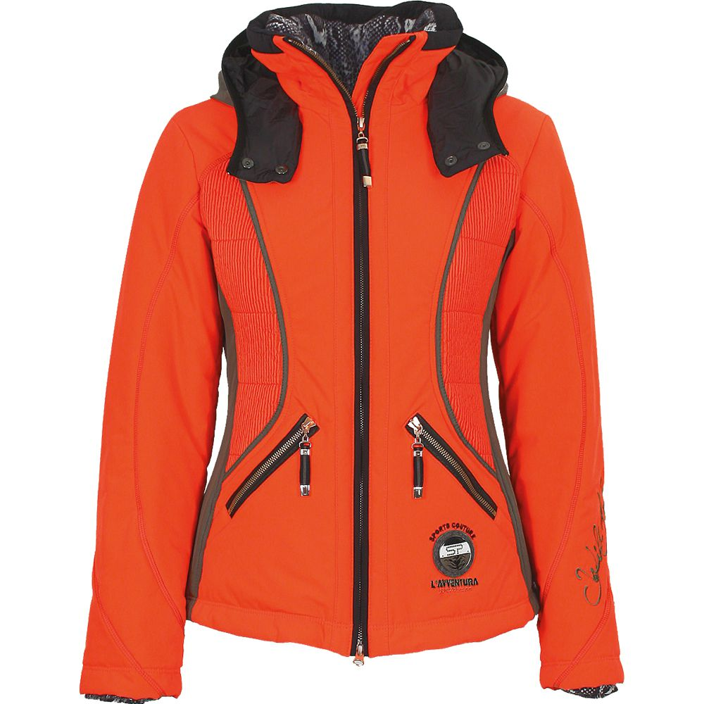 sportalm rafiya jacket damen orange kaufen im sport bittl shop. Black Bedroom Furniture Sets. Home Design Ideas